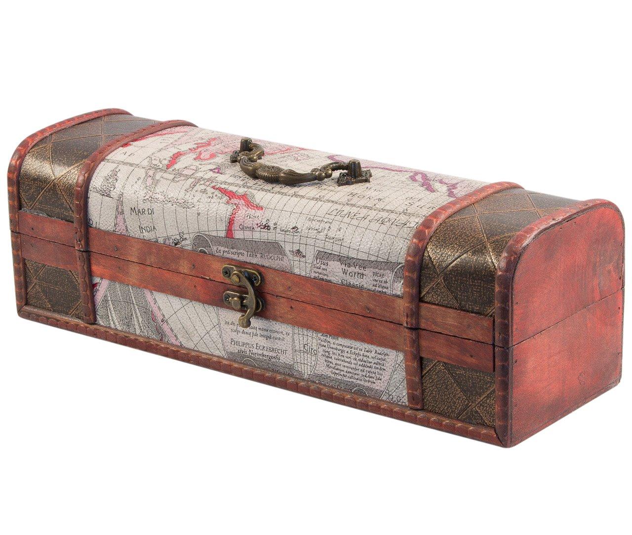 8805e8a5353 Koffer van hout - Koffer van hout fraai met leder - vanalswat